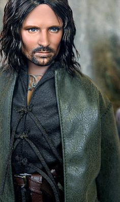 """Aragorn played by Viggo Mortensen """"Lord of the Rings"""" by ncruzdolls, via Flickr"""