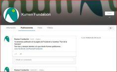 Estamos en Google+ plus.google.com/+KumenfundacionOrg