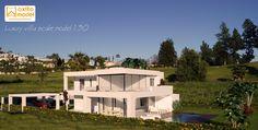 scale model luxury villa maquetas en málaga maquetas en marbella a escala 1:30