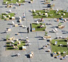Gdyby Group project shows potential of empty historic Targ Weglowy Square in Gdansk, Poland | Photo: Wojciech Ostrowski | Bustler