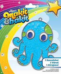 Colorbok Makit and Bakit Suncatcher Kit, Octopus ** See this awesome image @
