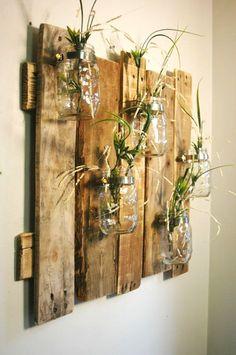 5 brilliant DIY hacks for DIY wall decoration # brilliant decoration . - 5 ingenious DIY hacks for DIY wall decoration Source by decorati - Pot Mason Diy, Mason Jar Crafts, Pots Mason, Diy Hanging Shelves, Floating Shelves Diy, Diy Hacks, Diy Wanddekorationen, Mur Diy, Deco Nature
