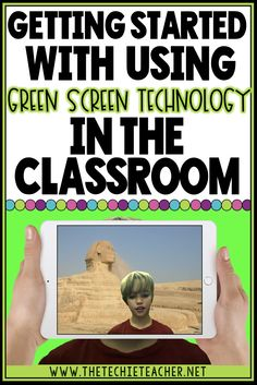 Learn how you can get started with using green screen technology in your classroom. Lots of low budget options, apps, and software are shared!