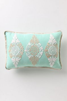 Dusky Blooms Pillow contemporary pillows