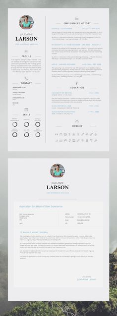 Professional #Resume Template for Word \ Pages, #Resume Cover - pages resume template