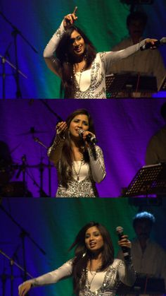 Collage.... Beautiful and melodious Shreya Ghoshal