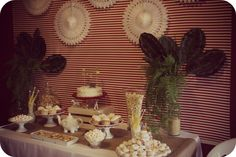 Crafty Habit: NO ELEPHANTS ALLOWED BABY SHOWER Dessert table