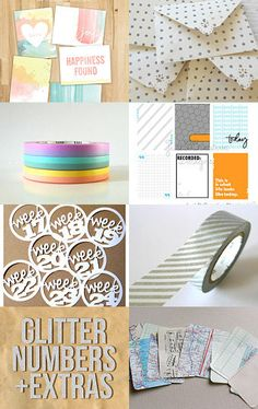Project Life Etsy Treasury--Pinned with TreasuryPin.com