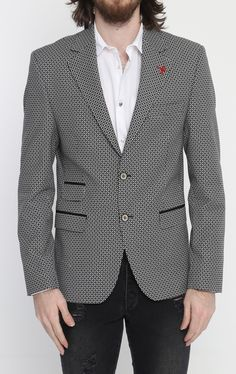 Honeycomb Fitted Blazer