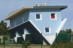 """The World Stands on its Head"" House on the Baltic Sea Island of Usedom"