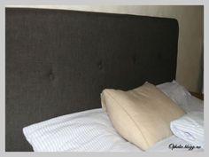 Hjemmelaget sengegavl Mattress, Bed Pillows, Pillow Cases, Diy, Furniture, Home Decor, Blogging, Anchor, Pillows