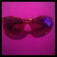 Michael Kors sunglasses like new One pair of Michael Kors tortoise shell sunglasses mk detail on sides like new Michael Kors Accessories Sunglasses