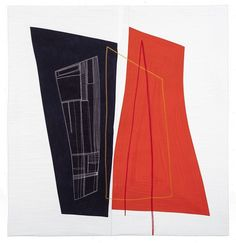 """Kate Stiassni's """"Inner Dimensions"""" x Hand-Dyed Cotton Fabrics, Cotton and Rayon Threads"""