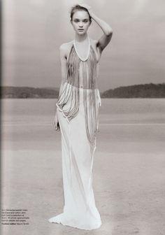 Model: Rosie Tupper | Photographer: Nicole Bentley | Stylist: Naomi Smith - 'Soft Focus' for Vogue Australia, April 2010