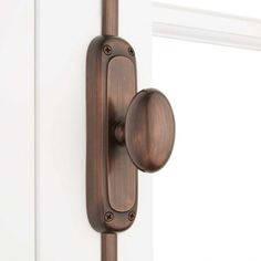 Bring a timeless look to your home with Classic Brass Oval Window Cremone Bolt. Made of brass and covered with a tarnish-resistant finish, this product feels premium to the touch. The cremone bolt can be cut to fit your window. Polished Brass, Solid Brass, Cremone Bolt, Fitted Cabinets, Window Hardware, Cabinet Hardware, Small Doors, Bronze Finish, Oil Rubbed Bronze