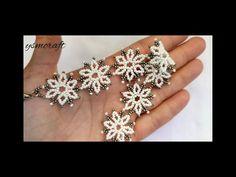 Beaded Flowers, Cancer, Jewels, Beads, Bracelets, Earrings, Youtube, Carnations, Tutorials