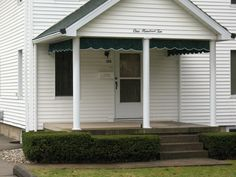 Porch And Valance Awnings Jamestown Awning And Party