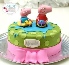 pepa pig cake