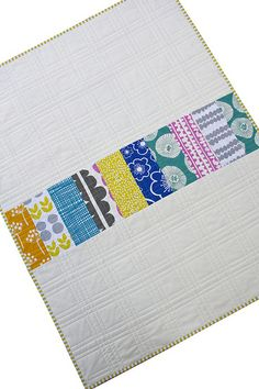 Red Pepper Quilts: Glimma by Lotta Jansdotter love the quilting on this. reminds me of plaid.