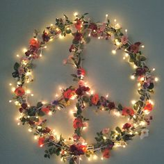 Peace light- change the flowers.