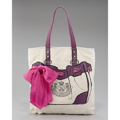 Juicy Couture Trompe L'Oeil Day Dreamer Tote