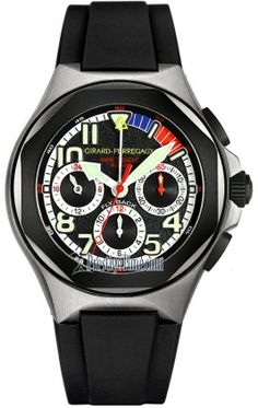 Girard Perregaux Laureato Flyback Chronograph BMW Oracle Racing 80175-28-022y-fk6a
