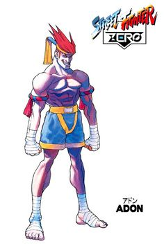 Street Fighter ZERO - Adon