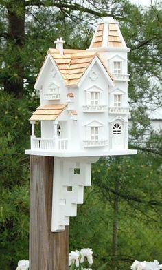 Home Bazaar Victorian Manor Bird House at BestNest.com