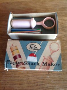 Vintage Tala Party Snack Maker Retro Original - Vintage Tweaks Ebay Store Cocktail Sticks, Party Snacks, Cocktails, The Originals, Retro, Store, Vintage, Ebay, Cocktail Parties
