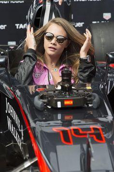 cara delevingne formula one monte carlo | Cara Delevingne And Kendall Jenner Get A Taste Of The F1 Life...