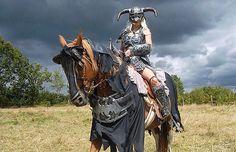 Epic Elder Scrolls: Skyrim Cosplay... With a Horse?!   moviepilot.com