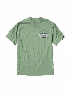 Camiseta Quiksilver Men's Corps T-Shirt Mineral Green-H #Camisetas #Quiksilver