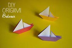 DIY : Origami Bateau