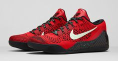 Nike Kobe 9 Elite Low University Red ($200)