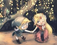 They are so cute- amazing style! (Legend of Zelda)