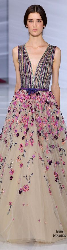 Georges Hobeika 2015 FW Haute Couture | Purely Inspiration