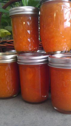 Super simple apricot freezer jam
