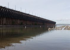 The Ashland Ore dock  August 2011