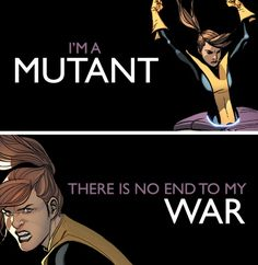 Kitty Pryde + mutant