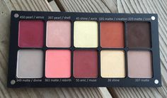 Limecrime Venus palette dupes from Inglot. Swatches up on the blog now! http://blushfix.com