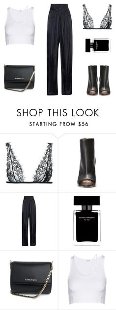 """""""Concert Style   Rihanna"""" by carolinestyle96 ❤ liked on Polyvore featuring La Perla, Balmain, Narciso Rodriguez, Givenchy and Helmut Lang"""