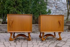 """new york all for sale / wanted classifieds dresser"""" - craigslist Retro Furniture, Furniture Projects, Cool Furniture, Furniture Design, Mid Century Modern Decor, Mid Century Modern Furniture, Mid Century Design, Cool Nightstands, Mid Century Bedroom"""