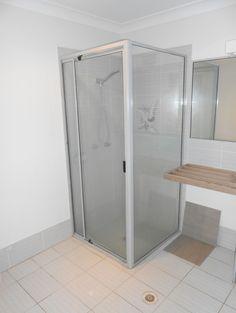 Bathroom at Wellington Point, we undertook the whole restoration in under 2 weeks Brisbane, Bliss, Restoration, Divider, Shower, Bathroom, Furniture, Home Decor, Rain Shower Heads