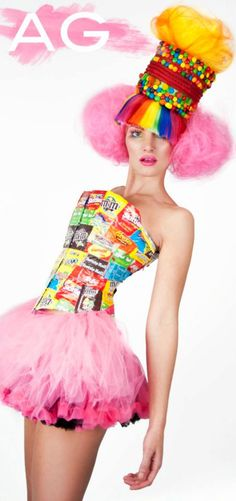 Candy Wrapper Corset
