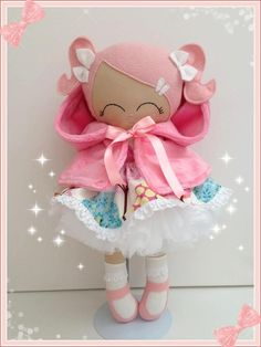 Princess Alyssa...no pattern, but she's intriguing to this doll maker
