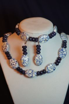 Blue Marble by amberscustomdesigns on Etsy, $35.00