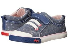 See Kai Run Kids - Kristin (Toddler) (Blue) Girl's Shoes