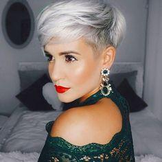 Vrouwelijk en toch lekker stoer… Deze 10 korte kapsels zijn echt the BOMB! - Kapsels voor haar #shorthaircutspixie