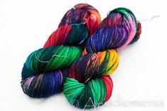Sock - Bird of the Feather - Colour Adventures (fibers: superwash merino, nylon) on Etsy, £13.60 #yarn #wool #knitting
