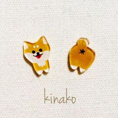 Aww, these earrings are so cute! Cute Crafts, Crafts To Do, Arts And Crafts, Shrink Plastic Jewelry, Craft Projects, Projects To Try, Shrink Art, Diy Resin Crafts, Plastic Art